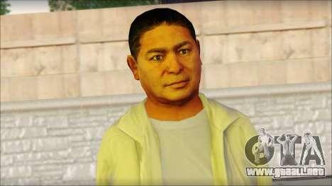 GTA 5 Ped 10 para GTA San Andreas tercera pantalla
