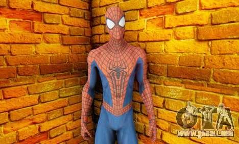 The Amazing Spider Man 2 Oficial Skin para GTA San Andreas tercera pantalla