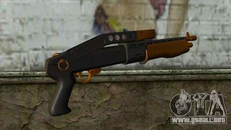Nitro Shotgun v2 para GTA San Andreas segunda pantalla