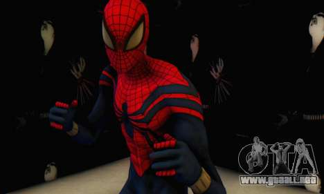 Skin The Amazing Spider Man 2 - Suit Ben Reily para GTA San Andreas segunda pantalla