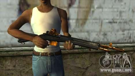 Nitro Rifle para GTA San Andreas tercera pantalla