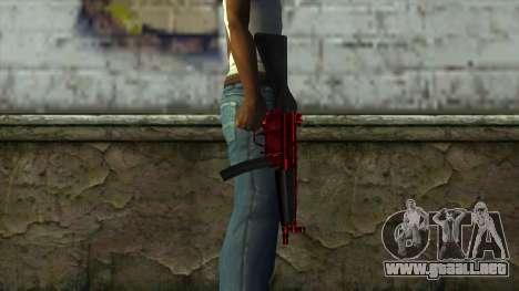 MP5 para GTA San Andreas tercera pantalla
