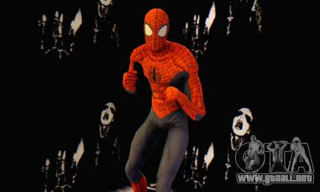 Skin The Amazing Spider Man 2 - Suit Edge Of Tim para GTA San Andreas