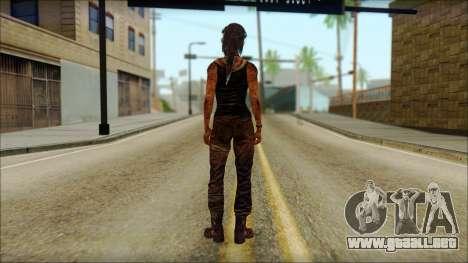 Tomb Raider Skin 13 2013 para GTA San Andreas segunda pantalla