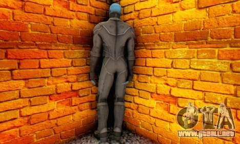 Skin Electro From The Amazing Spider Man 2 para GTA San Andreas segunda pantalla