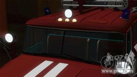 ZIL 131 - CA para visión interna GTA San Andreas