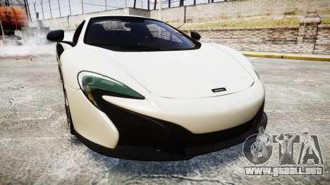 McLaren 650S Spider 2014 [EPM] BFGoodrich para GTA 4