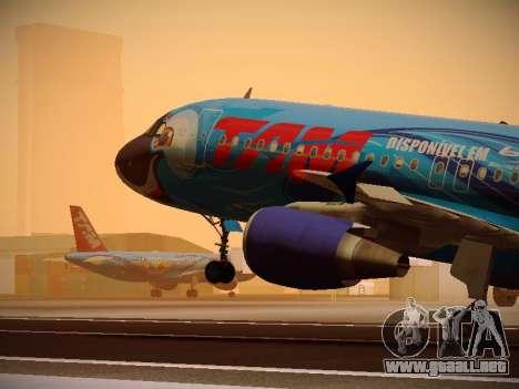 Airbus A320-214 TAM Airlines RIO para GTA San Andreas