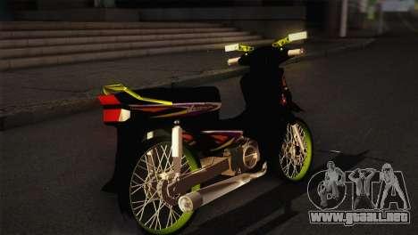 Honda Astrea para GTA San Andreas vista posterior izquierda