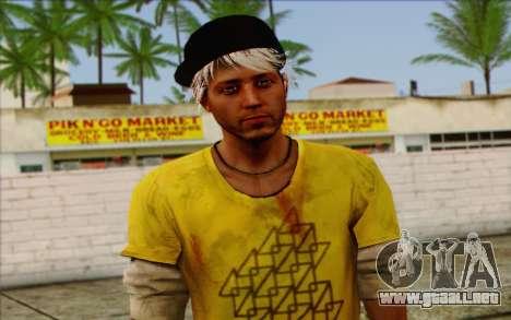 Oliver Carswell para GTA San Andreas tercera pantalla