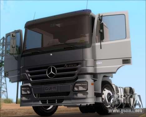 Mercedes-Benz Actros 3241 para visión interna GTA San Andreas
