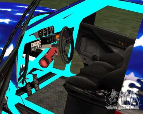 Liberator Online Version (American Flag) para GTA San Andreas vista posterior izquierda