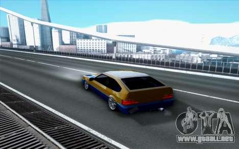 Blista By Next para GTA San Andreas left