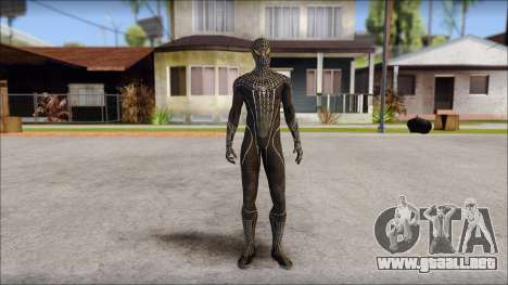 Standart Black Spider Man para GTA San Andreas