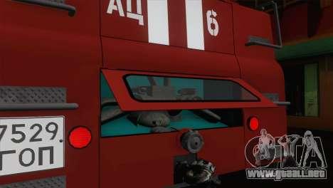ZIL 131 - CA para vista inferior GTA San Andreas