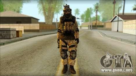 Los soldados de la UE (AVA) v6 para GTA San Andreas