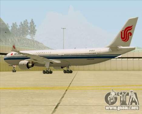Airbus A330-300 Air China para la visión correcta GTA San Andreas