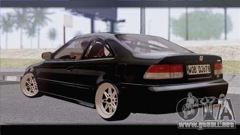 Honda Civic EM1 para GTA San Andreas left
