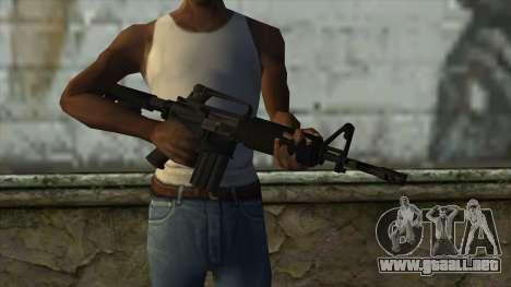AMCAR B82 From Pay Day 2 para GTA San Andreas tercera pantalla