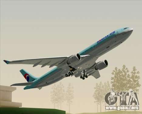 Airbus A330-300 Korean Air para el motor de GTA San Andreas
