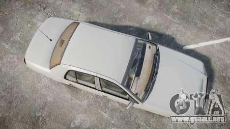 Ford Crown Victoria LX Sport para GTA 4 visión correcta