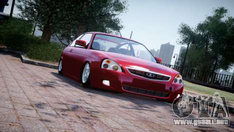 Lada Priora Coupe para GTA 4 left