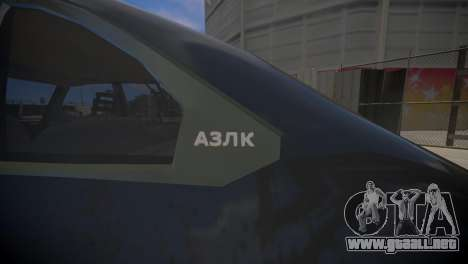 AZLK 2141 para GTA 4 visión correcta