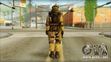 Los soldados de la UE (AVA) v6 para GTA San Andreas segunda pantalla