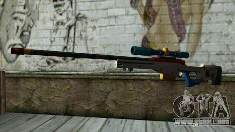 Sniper Rifle from PointBlank v4 para GTA San Andreas
