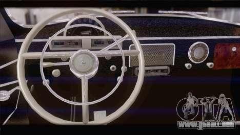 GAS 21 1965 para GTA San Andreas vista posterior izquierda