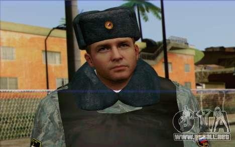 La policía rusa de la Piel 5 para GTA San Andreas tercera pantalla