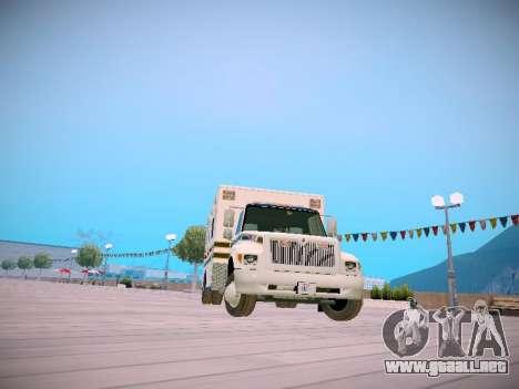 Pierce Commercial Grasonville Ambulance para GTA San Andreas
