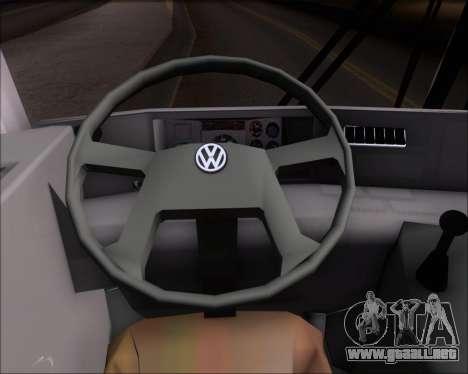 Marcopolo Viaggio G7 Mercedes-Benz OF1724M para GTA San Andreas interior