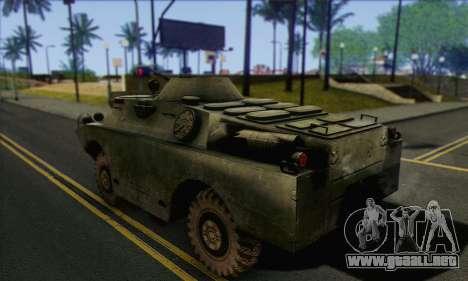 BRDM-2 from ArmA Armed Assault para GTA San Andreas left