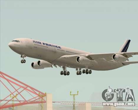 Airbus A340-313 Air France (Old Livery) para el motor de GTA San Andreas
