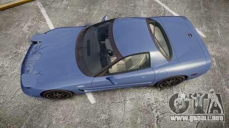 Chevrolet Corvette Z06 (C5) 2002 v2.0 para GTA 4 visión correcta