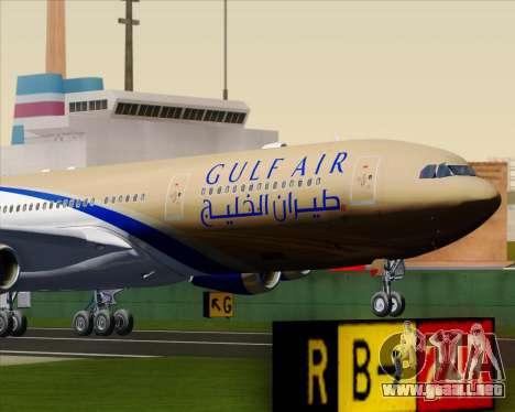 Airbus A340-313 Gulf Air para GTA San Andreas