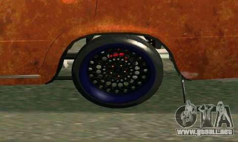 VAZ 2101 Rat-look para la visión correcta GTA San Andreas
