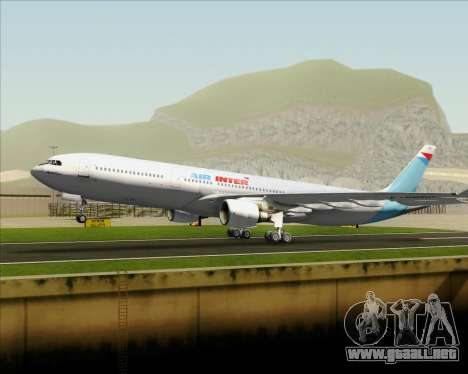 Airbus A330-300 Air Inter para el motor de GTA San Andreas