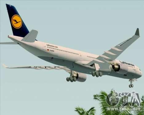 Airbus A330-300 Lufthansa para GTA San Andreas
