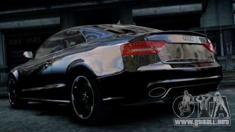 Audi RS5 2011 para GTA 4 left