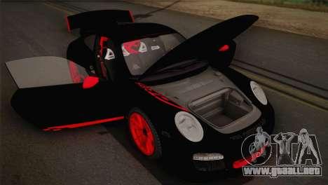 Porsche 911 GT3RSR para visión interna GTA San Andreas