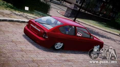 Lada Priora Coupe para GTA 4 vista hacia atrás