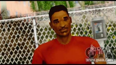 Lance no Glasses Casual para GTA San Andreas tercera pantalla