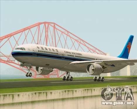 Airbus A330-300 China Southern Airlines para GTA San Andreas left