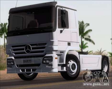 Mercedes-Benz Actros 3241 para la visión correcta GTA San Andreas