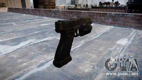 Pistola Glock 20 kryptek tifón para GTA 4 segundos de pantalla