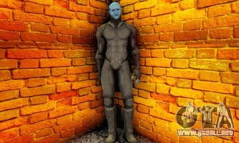 Skin Electro From The Amazing Spider Man 2 para GTA San Andreas tercera pantalla