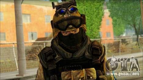 Los soldados de la UE (AVA) v6 para GTA San Andreas tercera pantalla