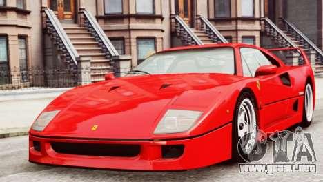 Ferrari F40 1987 para GTA 4